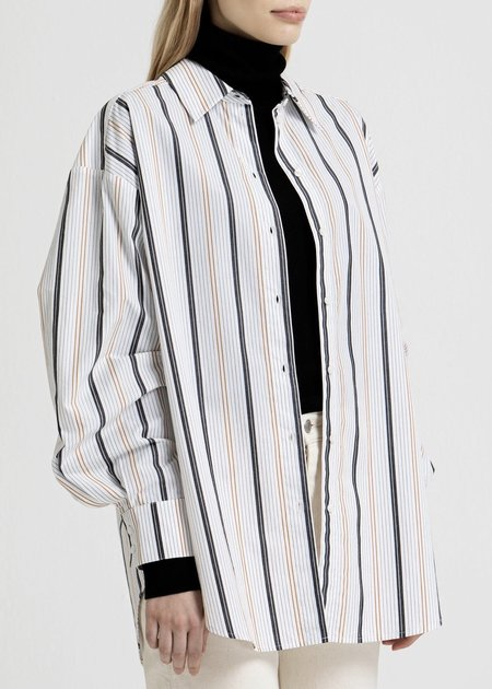 House Of Dagmar Gina Shirt - Stripe