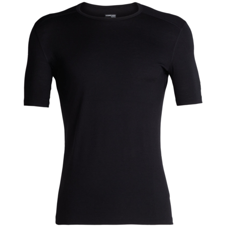 Icebreaker 200 Oasis Short Sleeve Crew T-Shirt - Black