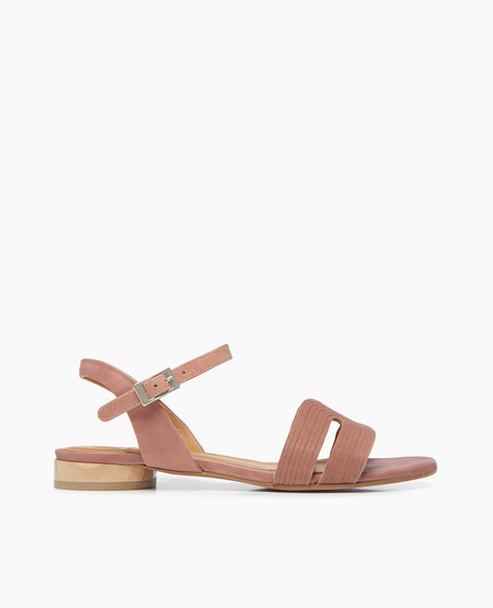 Coclico Crown Sandal in Talco Deep Rose
