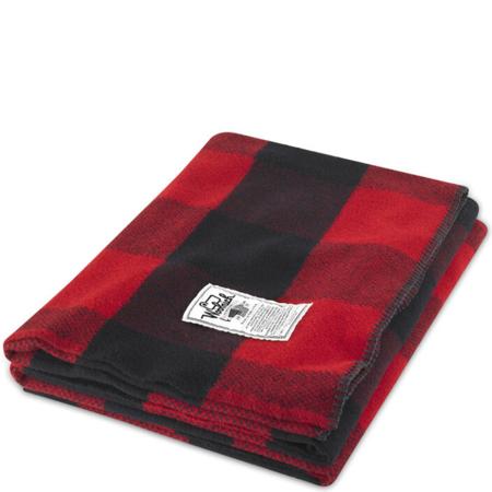 Woolrich Seven Springs Wool Blanket - Red/Black