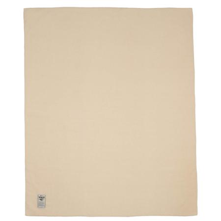 Woolrich Solid Wool Blanket - Cream