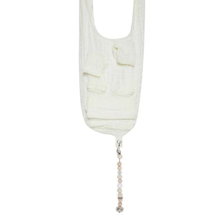 ST-HENRI Cotton Gauze Instant Zen Bag - Cream