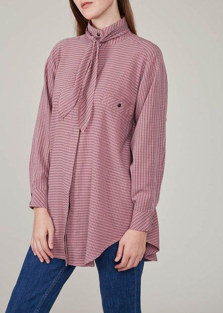 Mr. Larkin Really shirt - pink plaid