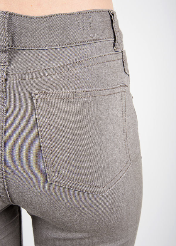 Williamsburg Garment Company - Union Ave Hi Waist Super Skinny in Grey
