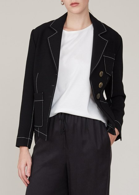 REJINA PYO Rhia jacket - black