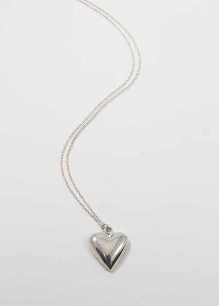 SOPHIE BUHAI Petite Heart Pendant - sterling silver