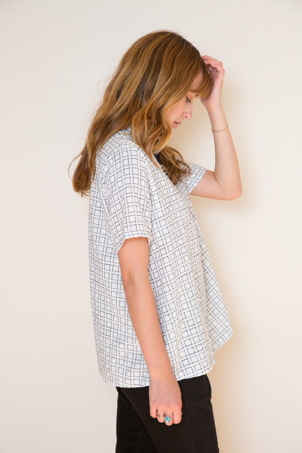 Ace & Jig Mercer Top in Trellis
