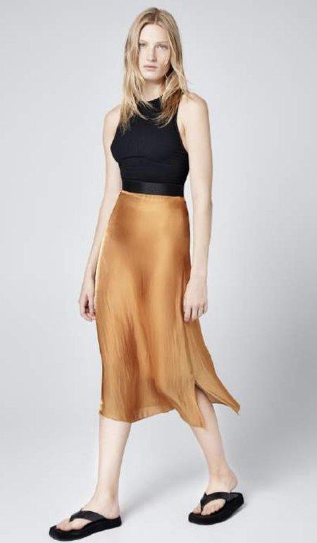 Smythe Diaphanous Slip Skirt - Bronze
