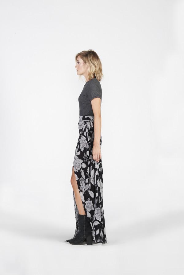 Siena Wrap Skirt - Floral