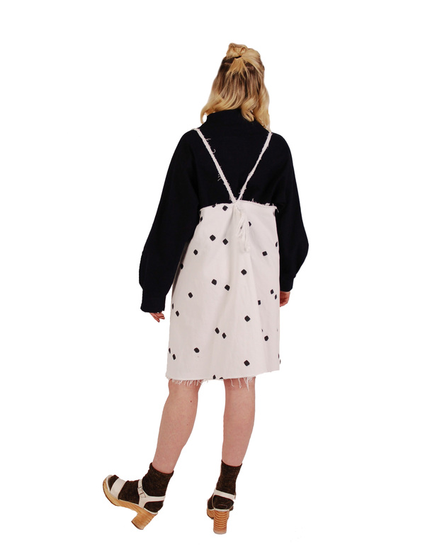 323 Polka Dot Pinafore