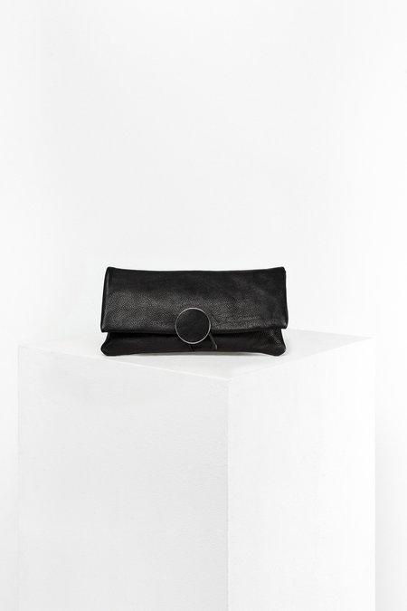Disselhoff Organic Cow Leather Clutch - Black