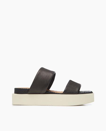 Coclico Seaview Sandal in Stretch Natur Black