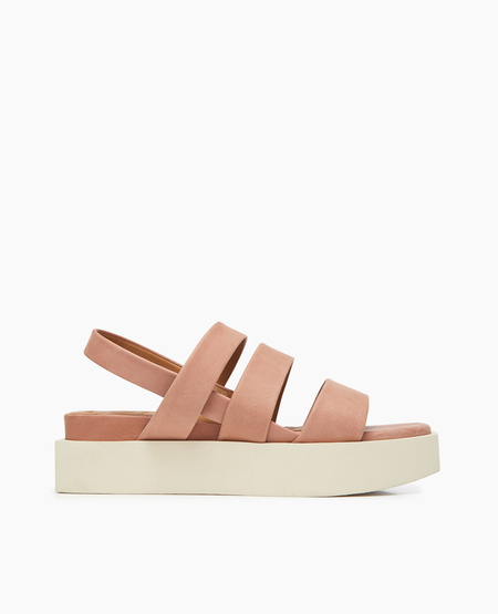 Coclico Shore Sandal in Talco Deep Rose