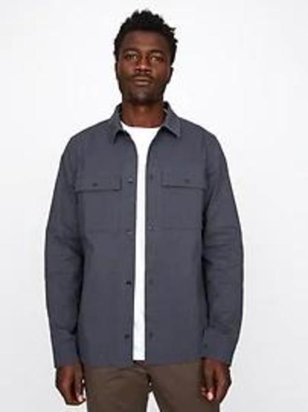 Hill City Hybrid Ripstop Shirt Jacket - Dusk Navy