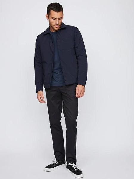 Hill City Thermal Light Shirt Jacket - Navy
