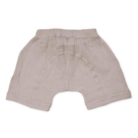 Kids Bacabuche Gauze Oversized Shorts - Fawn