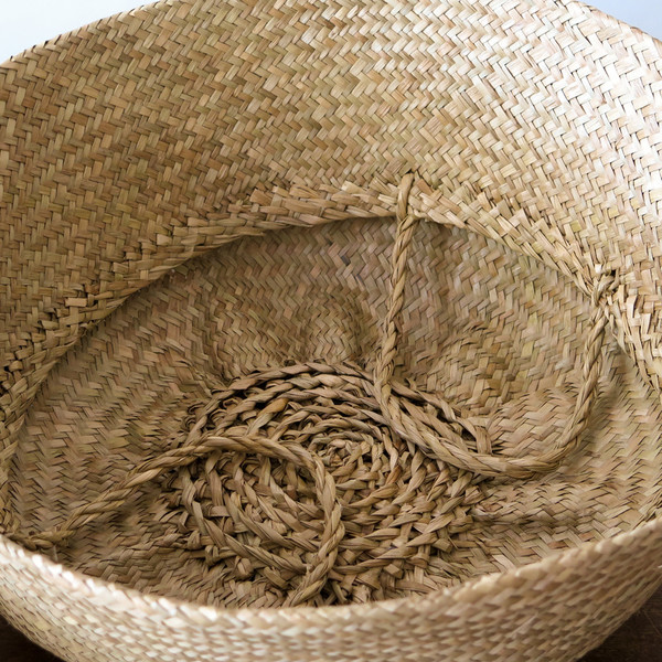 Roost large convertible seagrass basket