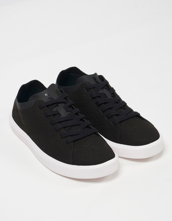 Native Shoes Native Monaco Low Non Perf Jiffy Black Shell White