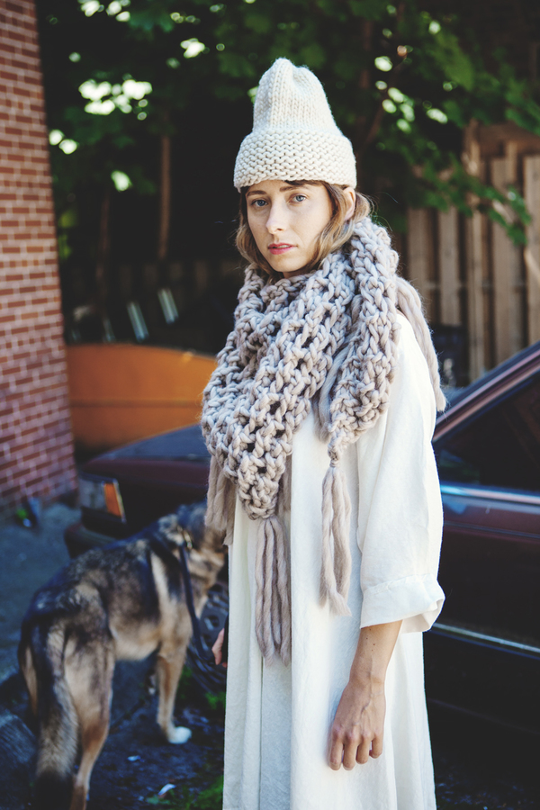 good night, day Belleville shawl