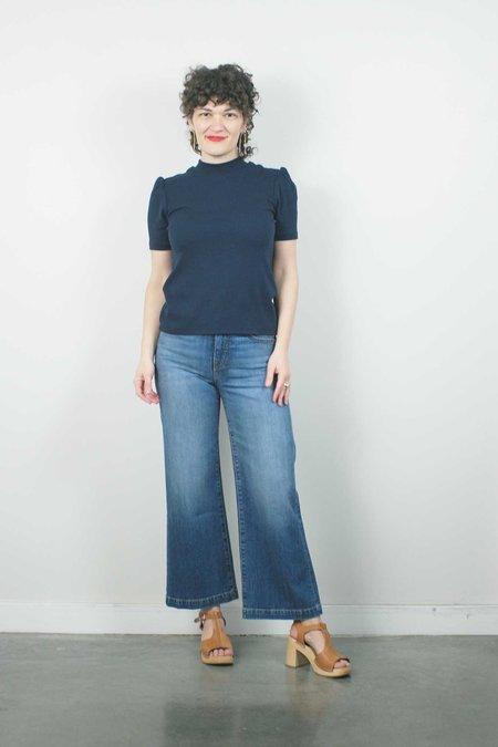 Father's Daughter LA Susie High Rise Wide Leg Crop - Labor