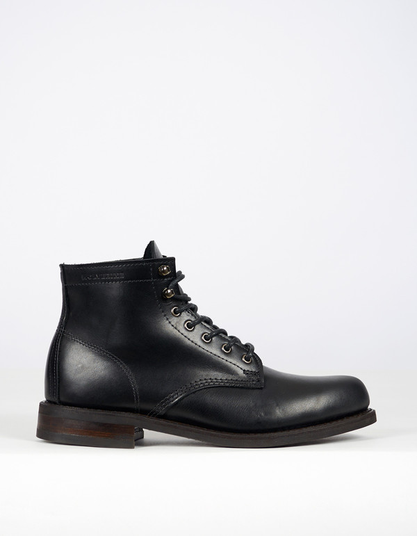 "Wolverine 1883 Wolverine 6"" Kilometer Boot Black Leather"