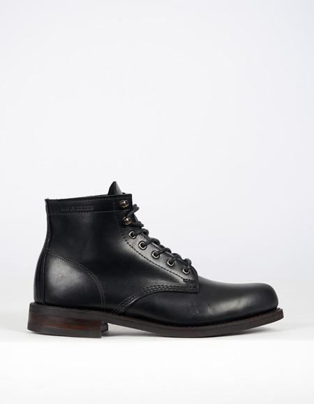 "Wolverine 1883 Wolverine 6"" Kilometer Boot Black Leather"