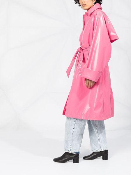MM6 MAISON MARGIELA Trench Coat - pink