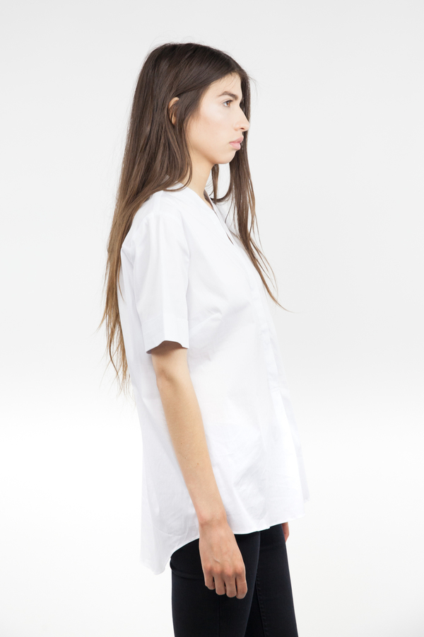 Just Female Hanna Short Sleeve - White