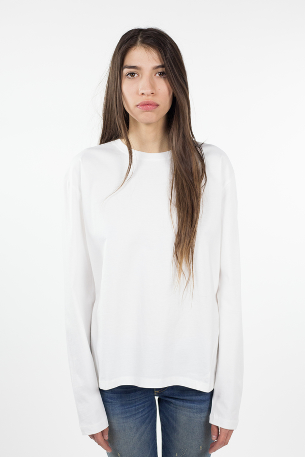 Kowtow Building Block Boyfriend Top - White