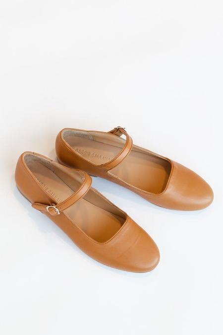 Caron Callahan Ellie Mary Jane - Cognac Leather