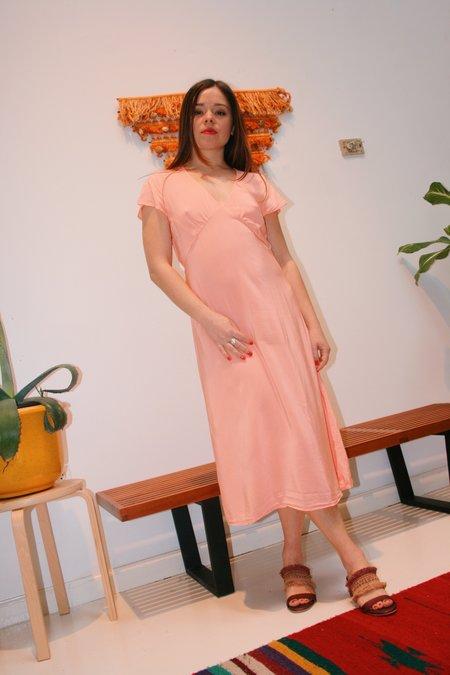 Lacausa Vivien Dress - Guava