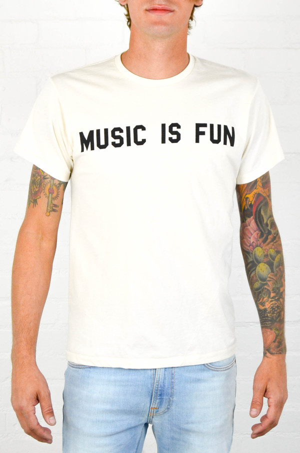 Men's 18 Waits 'Music Is Fun' Tee