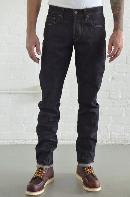 Men's Imogene and Willie Barton Slim Rigid Indigo