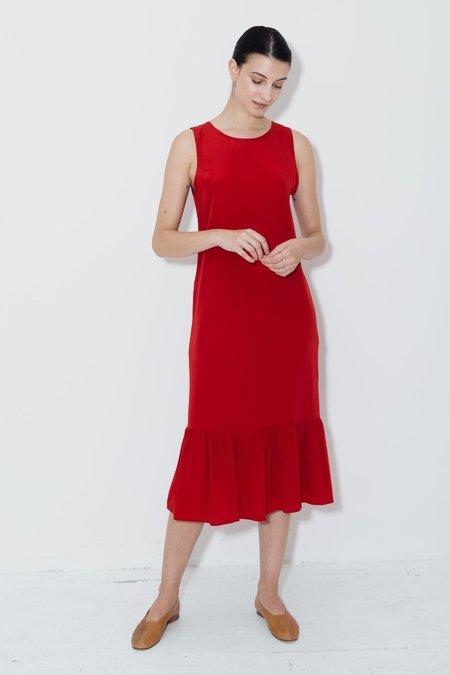 Datura Passion Carmen Dress - Red