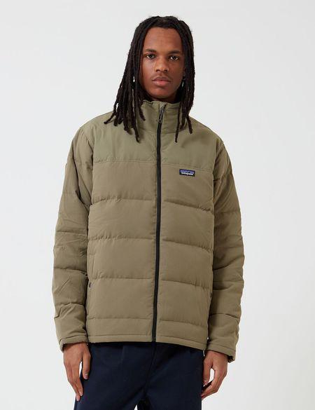 Patagonia Bivy Down Jacket - Sage Khaki Green