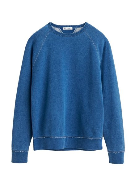 Alex Mill French Terry Sweatshirt - Light Indigo
