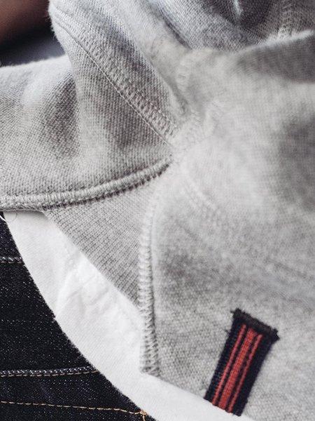 NWKC Hooded Zip - Feather Grey