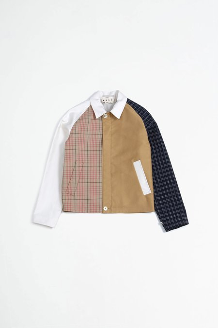 Marni patchwork multi jacket