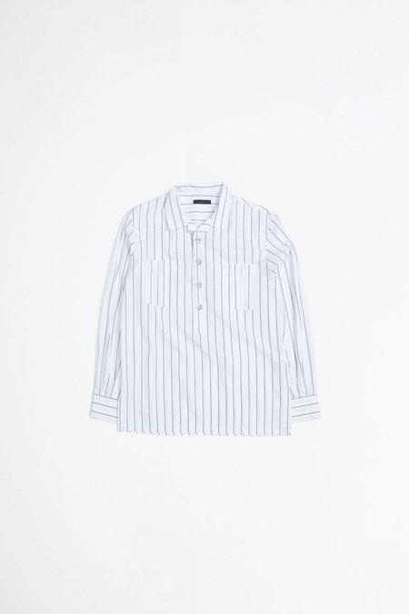 The Gigi Stanley shirt - stripes white