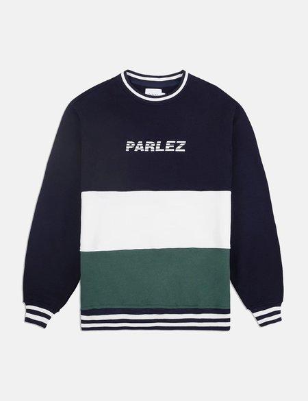 Parlez Abeking Crew Sweatshirt - navy blue