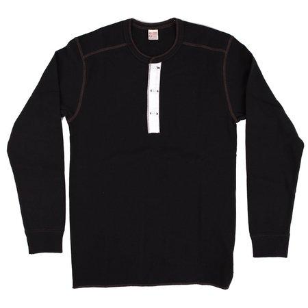 The Real McCoy's & Co. Union Short Long Sleeve - Black