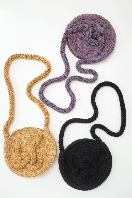 Mozh Mozh Crochet Knots Circle Bag