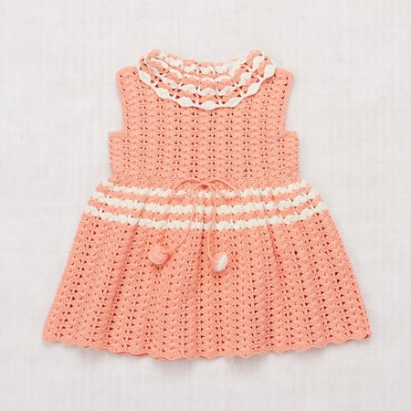 kids Misha & Puff Ever Dress - Coral