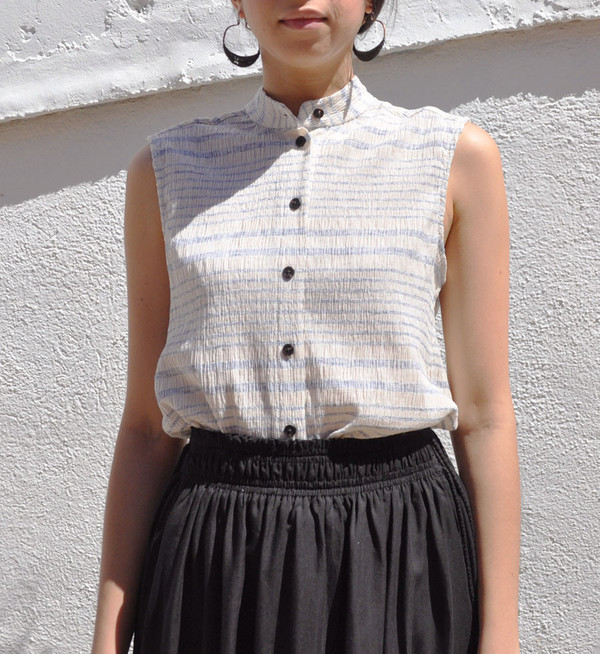 Rachel Comey Faded Stripe Bosa Shirt