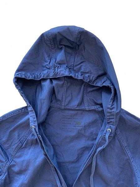Save khaki United NB X SKU Utility Anorak Rain Jacket - Indigo