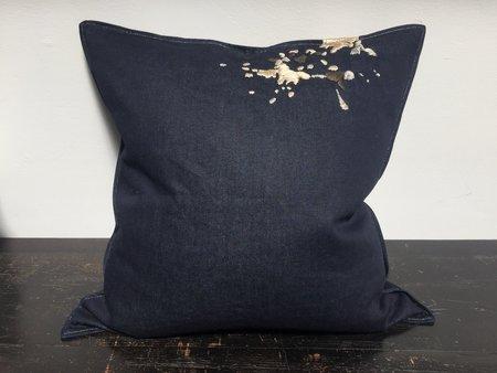 Anderst Denim Splash Pillow