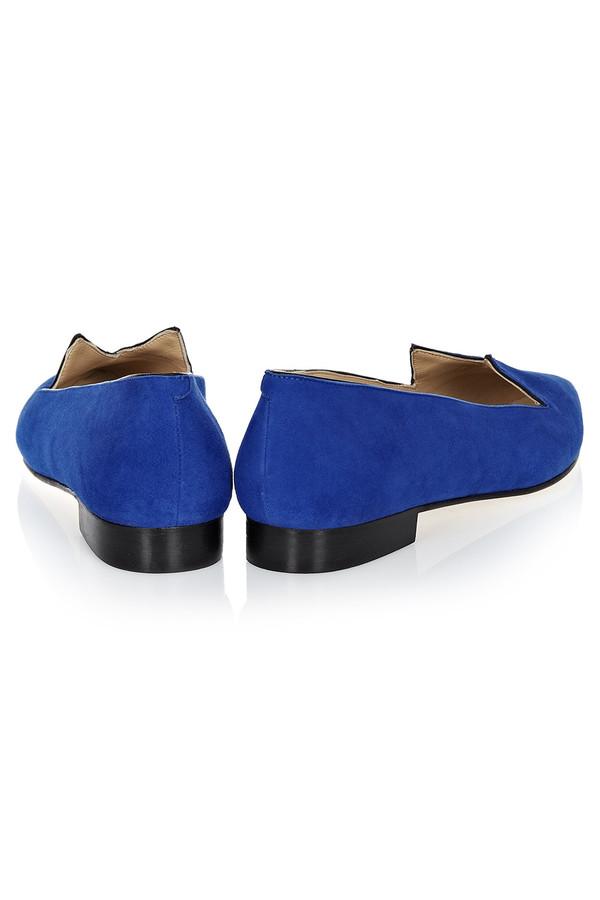 Minna Parikka - Cobalt Blue 'Purr' Flat