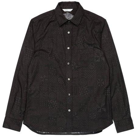 3Sixteen Button Down - Black Geo
