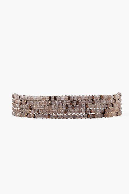 Chan Luu Bronze Mix Naked Wrap Bracelet - BRONZE MIX
