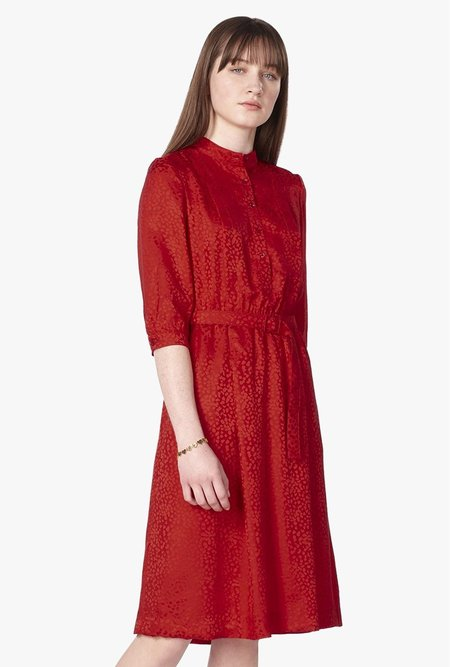 A.P.C. Marion Robe DRESS - Rouge